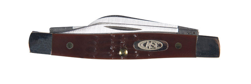Case  Working Stockman Sm  Brown  Stainless Steel  2.63 in. Pocket Knife