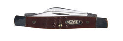 Case  Stockman  Brown  Stainless Steel  Pocket Knife