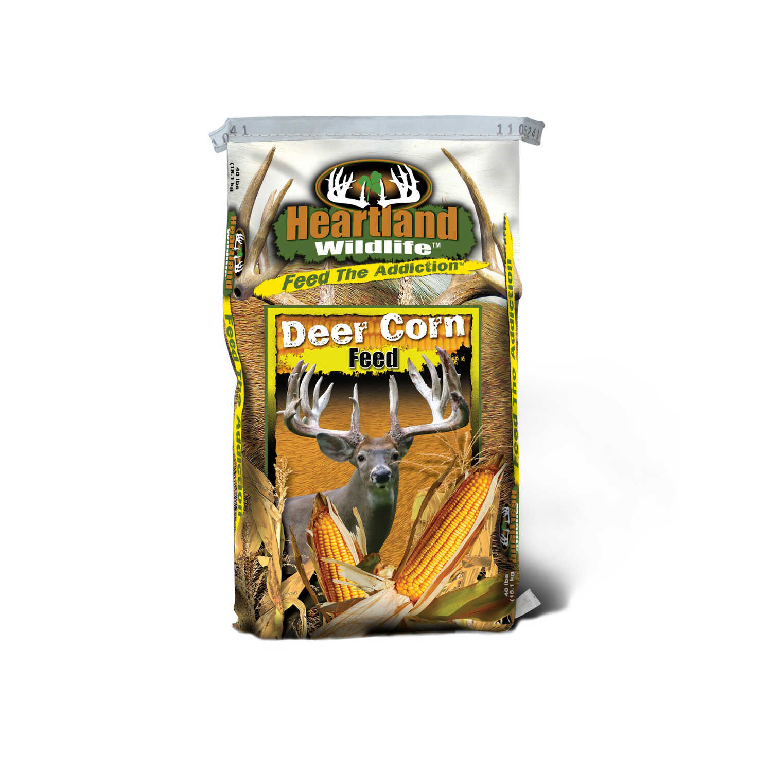 Heartland Wildlife  Corn Feed  Dry  For Deer 40 lb.