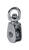 Baron  1/2 in. Dia. Cadmium Plated  Zinc  Swivel Eye  Single Eye Pulley