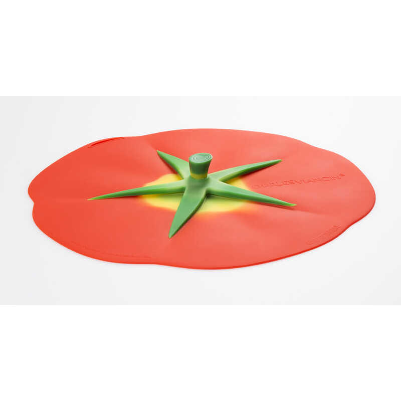 Charles Viancin  9 in. W Red  Tomato Lid