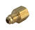 JMF  5/16 in. Flare   x 1/8 in. Dia. FPT  Brass  Adapter