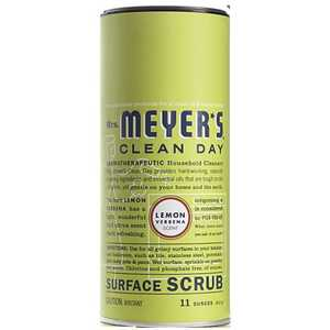 Mrs. Meyer's  Clean Day  Lemon Verbena Scent Surface Scrub  11 oz. Powder