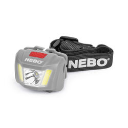 Nebo  DUO  250 lumens Black/Gray  LED  COB Head Lamp  AAA Battery