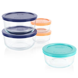 Pyrex  Food Storage Container Set  5 pk Clear