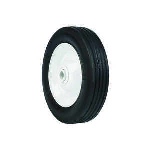 Arnold  1.5 in. W x 6 in. Dia. Steel  50 lb. Lawn Mower Replacement Wheel