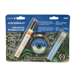 Alpha  Solder and Flux Kit  1 pc.