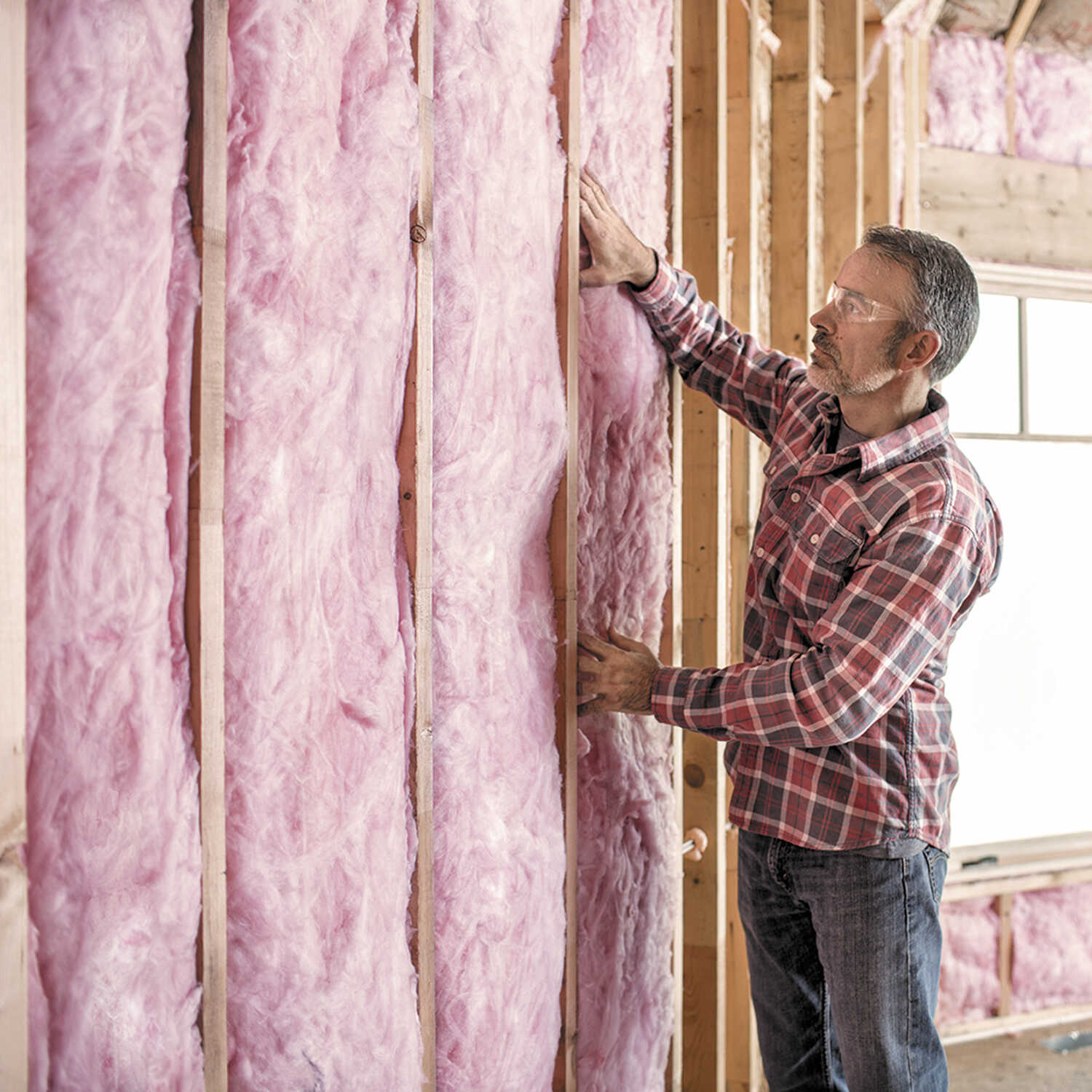 Owens Corning  Eco Touch  15 in. W x 93  L 19  Unfaced  Insulation  Batt  77.5 sq. ft.