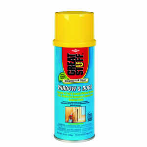 GREAT STUFF  Yellow  Polyurethane Foam  Insulating Sealant  12 oz.