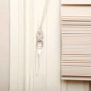 Dreambaby  Clear  Plastic  Blind Cord Wraps  4 pk