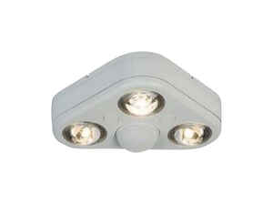 All-Pro  Revolve  Motion-Sensing  270 deg. LED  White  Outdoor Floodlight  Hardwired