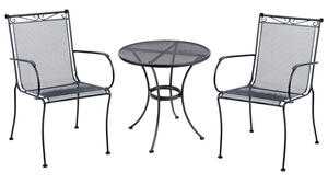 Living Accents  Black  Round  Table