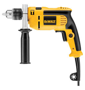DeWalt  1/2 in. Keyed  Corded Hammer Drill  7 amps 2800 rpm