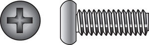 Hillman  No. 8-32 in.  x 2 in. L Phillips  Flat Head Stainless Steel  Machine Screws  100 pk