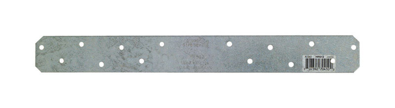 Simpson Strong-Tie  12 in. H x 1-3/8 in. W x 0.13 in. W 12 Ga. Galvanized Steel  Strap