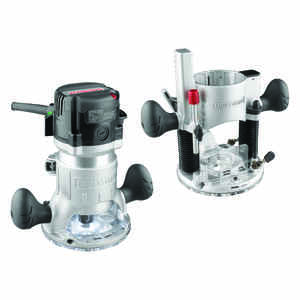 Craftsman  Corded  Fixed/Plunge Base Router Combo  16.8 in. Dia. 12 Amp amps 2 hp 25000 rpm