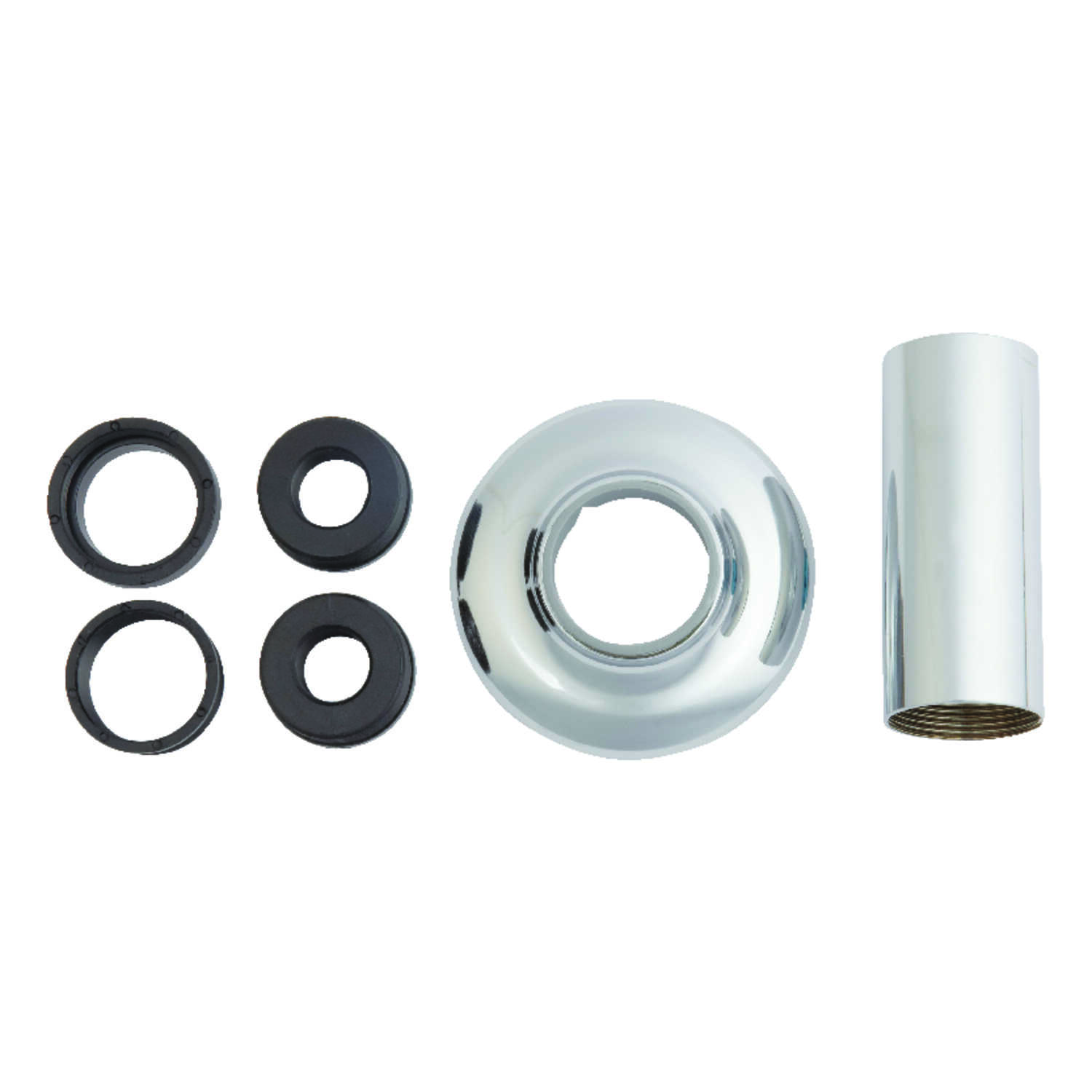 Ace  Brass  Tube and Flange For Tub/Shower Faucet  1.25 in.