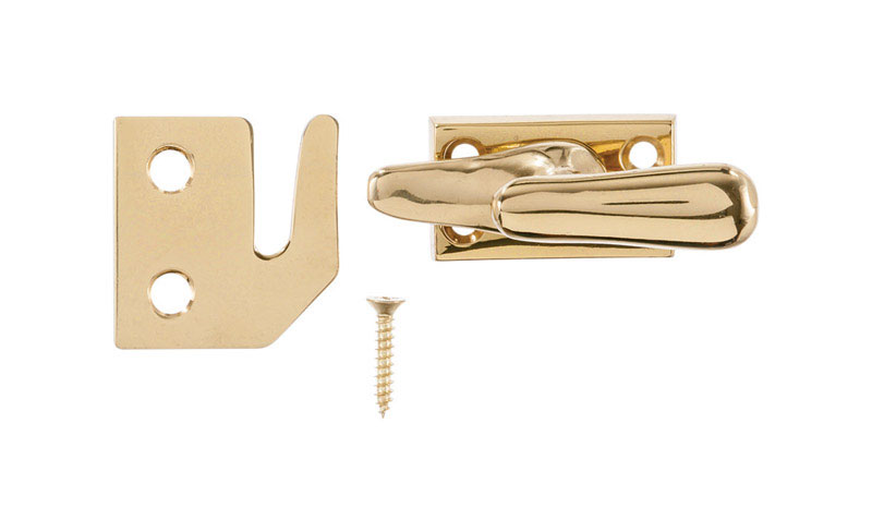 Ace  Brass  Window Lock  1 pk Brass