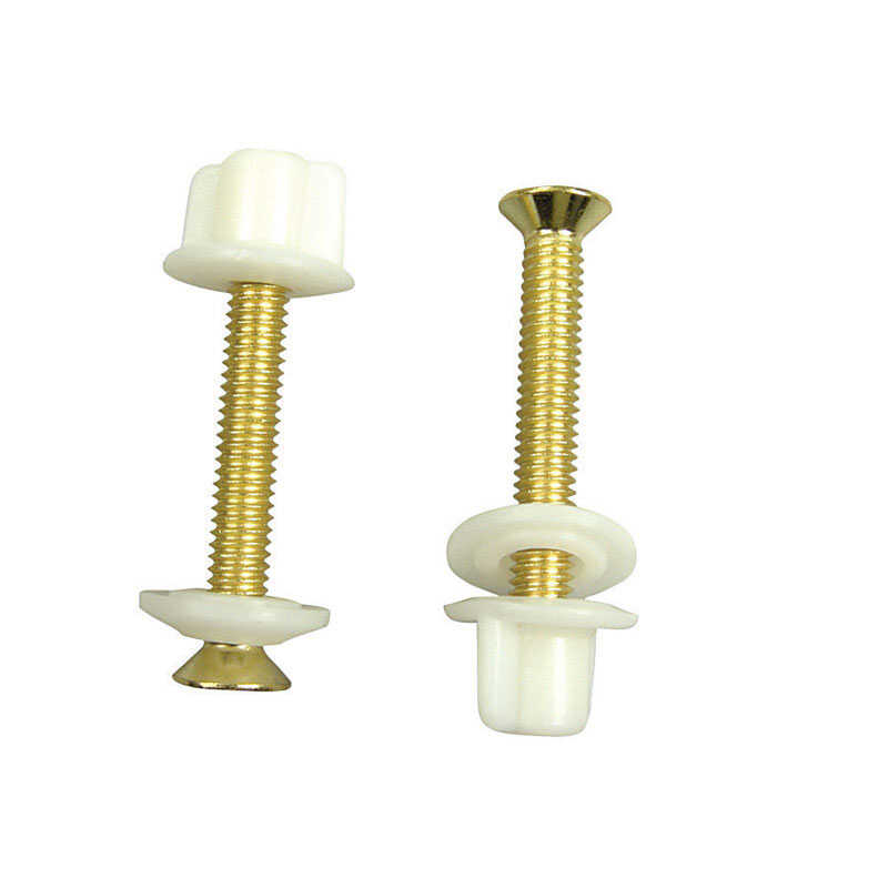 Danco  Toilet Seat Hinge Bolts  Brass