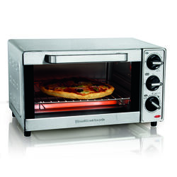 Hamilton Beach  Stainless Steel  Silver  Toaster Oven  8.7 in. H x 11.5 in. W x 15 in. D