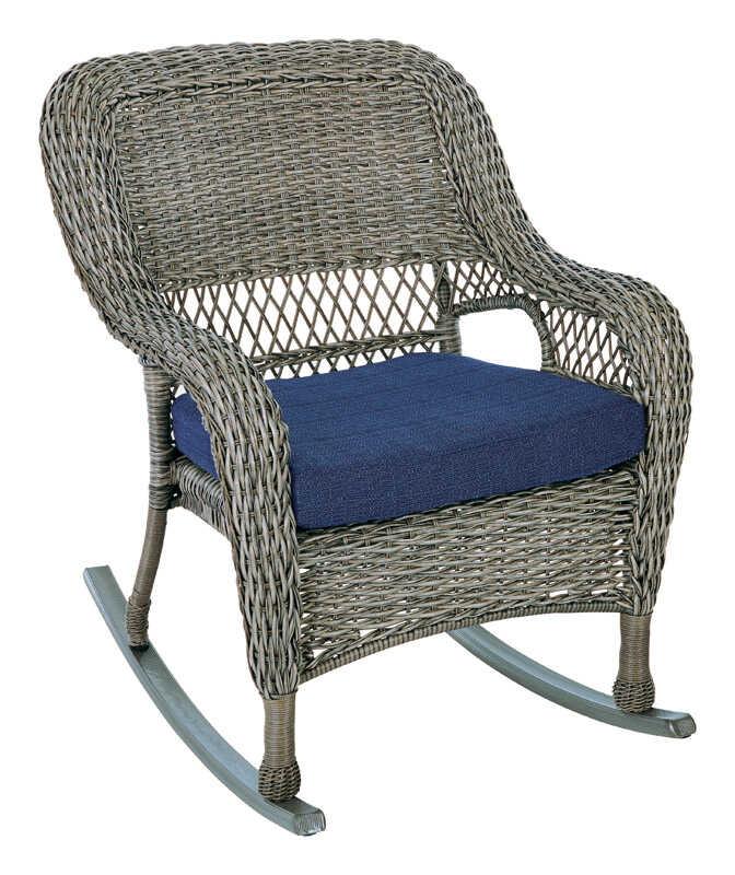 Living Accents Metropolitan Patio Furniture: Living Accents Wicker Rocker Chair