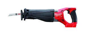 Milwaukee  M18 FUEL SAWZALL  1-1/8 in. Cordless  Reciprocating Saw  18 volt 3000 spm
