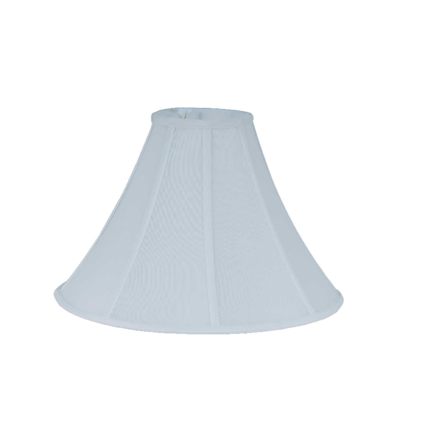 Living Accents  Bell  Ivory  Silk  Bell Silk Shade  1