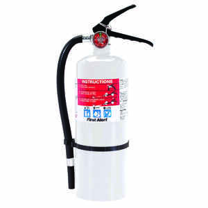 First Alert  5 lb. Fire Extinguisher  For Home/Workshops US Coast Guard Agency Approval