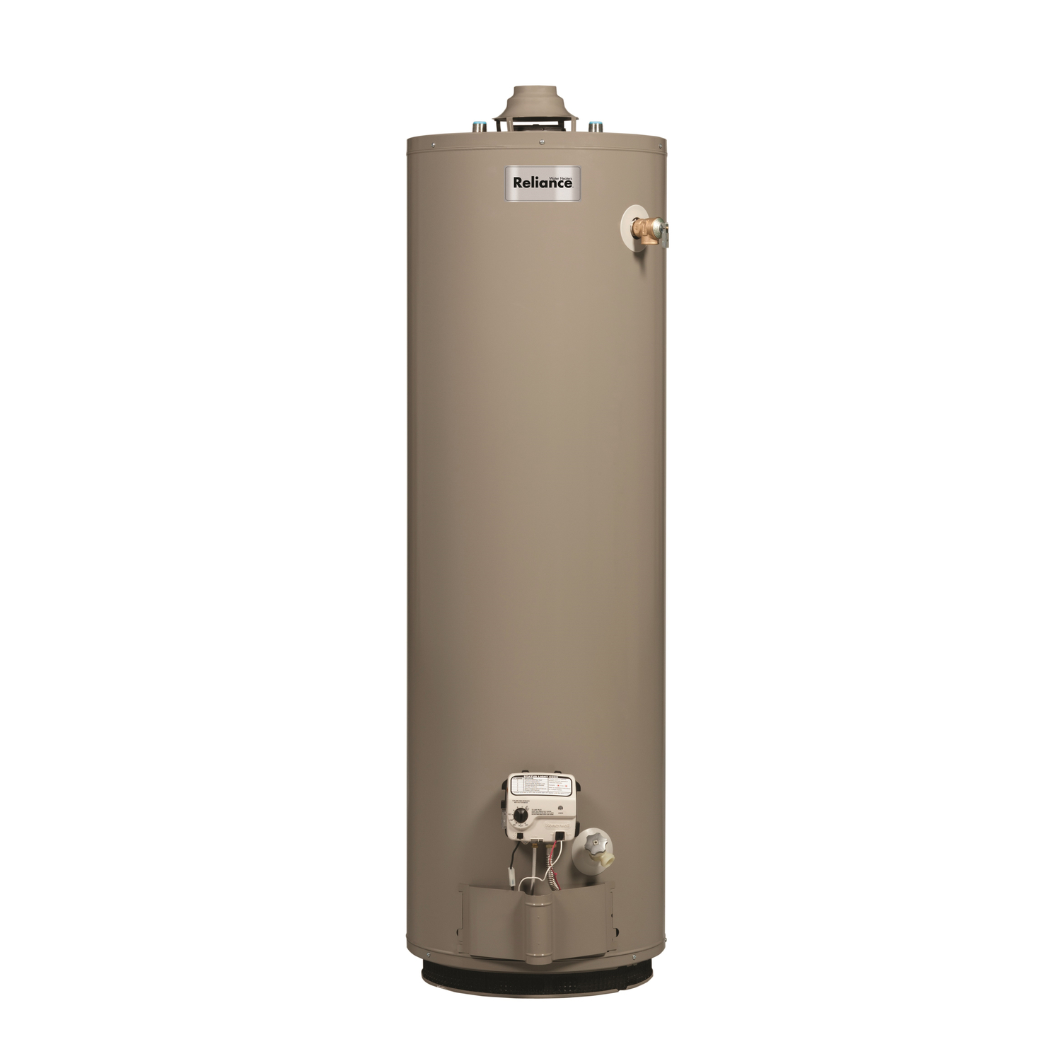 Reliance  Water Heater  Natural Gas  30 gal. 61-3/4 in. H x 16 in. L x 16 in. W