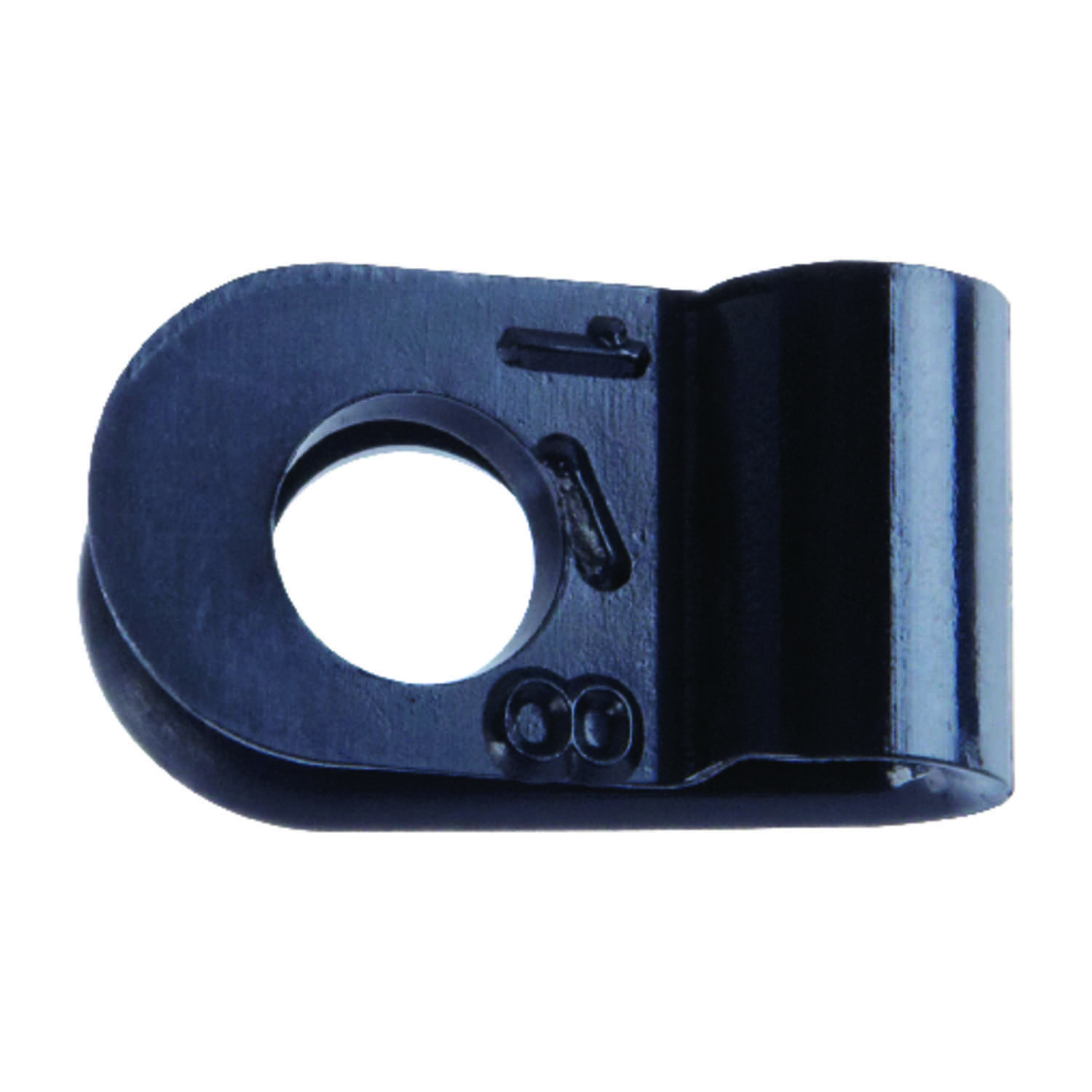 Jandorf  1/8 in. Dia. Nylon  Cable Clamp  5 pk