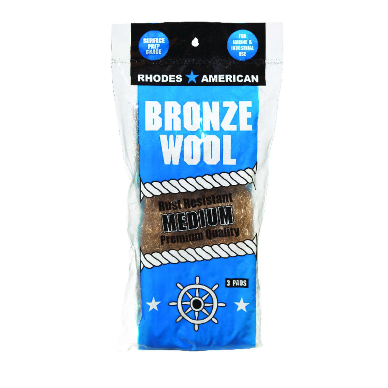 Rhodes American 3 Grade Super Fine Steel Wool Pad 3 Pk Ace Hardware