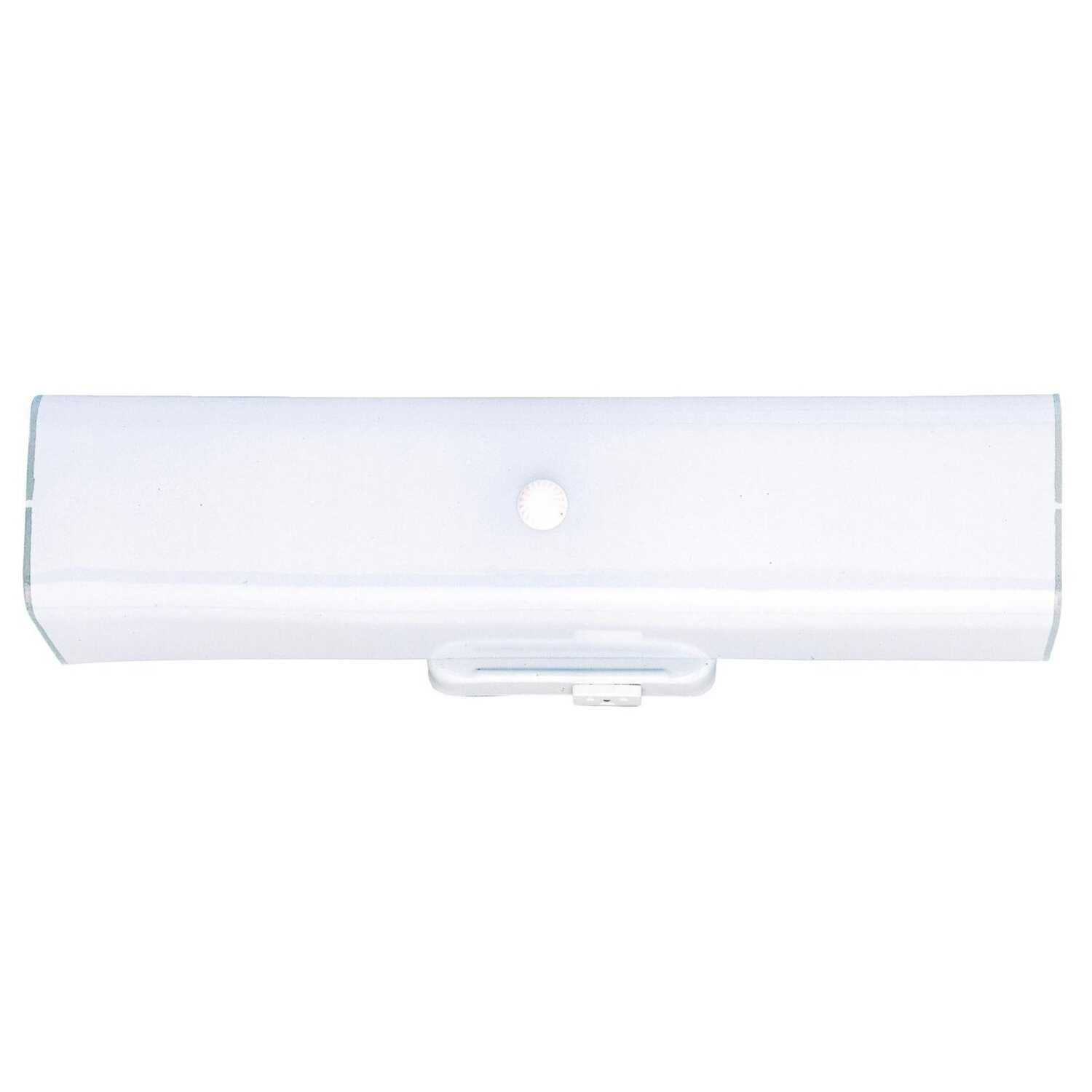 Westinghouse  White  2 lights Bathroom Channel Fixture  Wall Mount