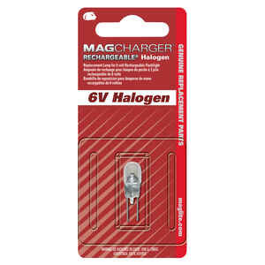Maglite  Mag Charger  Halogen  Bi-Pin Base  Flashlight Bulb