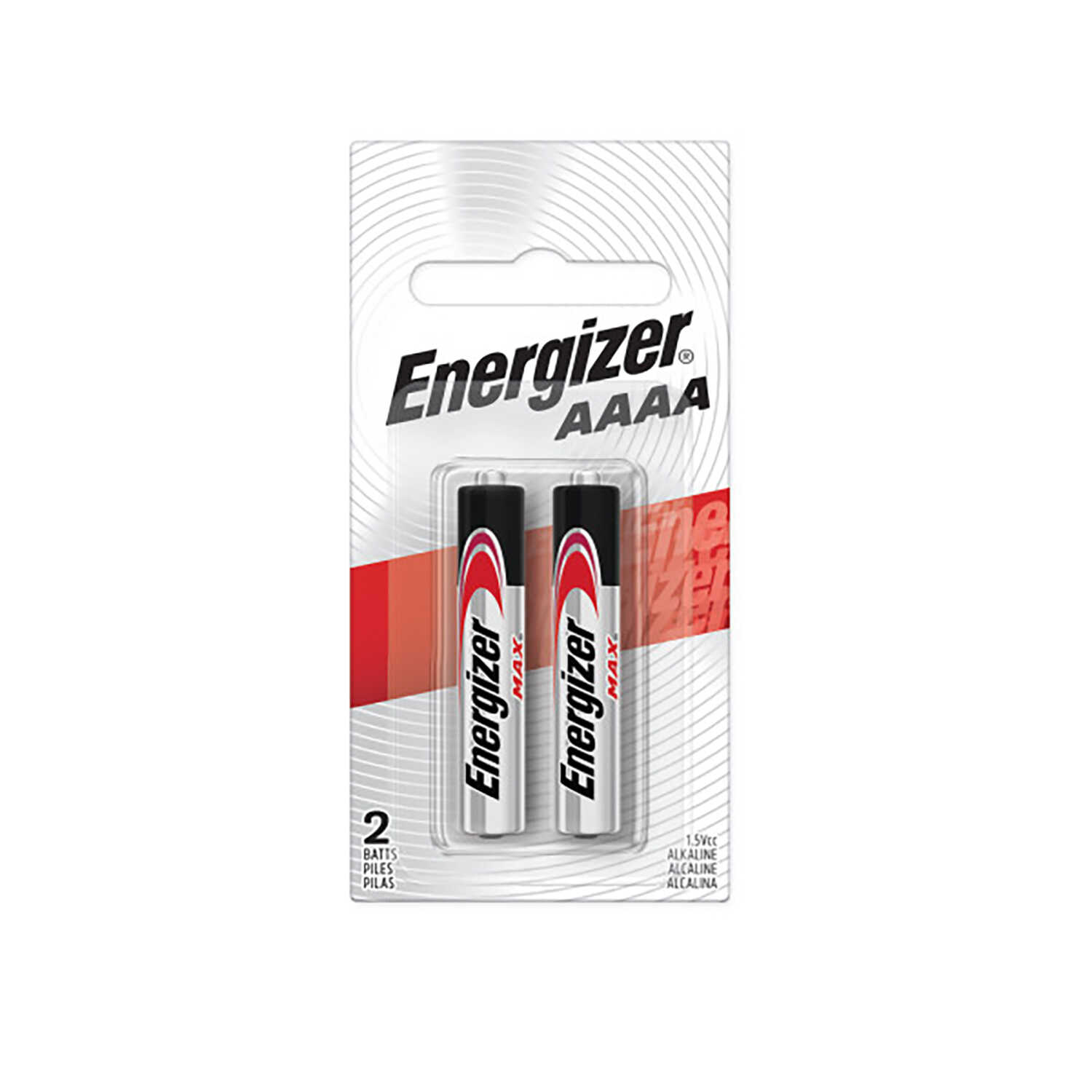 Energizer  MAX  AAAA  Alkaline  Batteries  2 pk 1.5 volts Carded