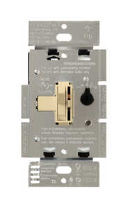 Lutron  Toggler  Ivory  3-Way  Dimmer Switch  150 watts