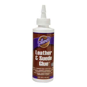 Aleene's  High Strength  Latex  Leather and Suede Glue  4 oz.