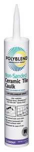 Custom Building Products  Delorean Grey  Siliconized Acrylic  Polyblend  Caulk  10.5 oz.
