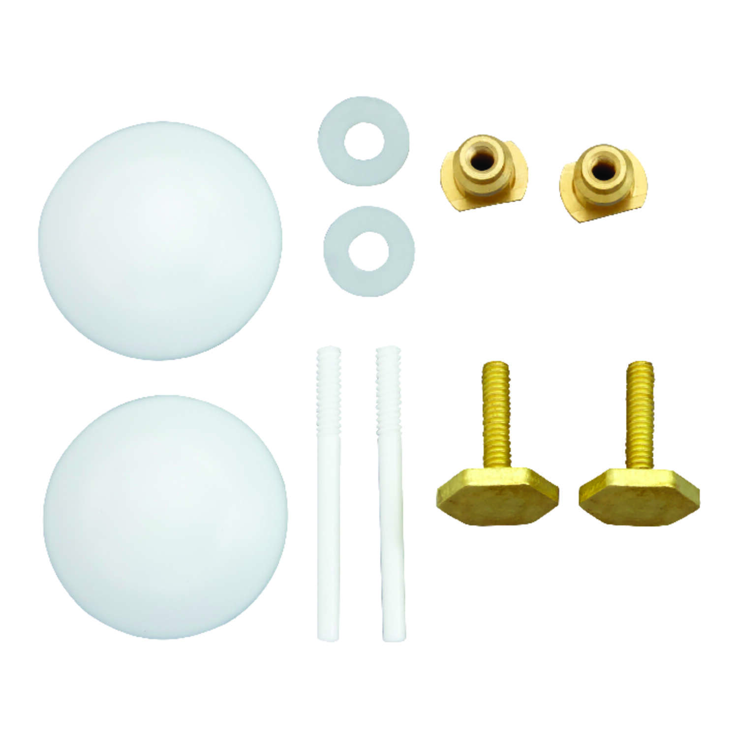 Ace  Toilet Bolts Set  Plastic