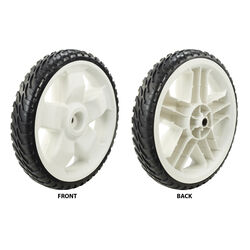 Toro  2 in. W x 11 in. Dia. Plastic  Lawn Mower Replacement Wheel