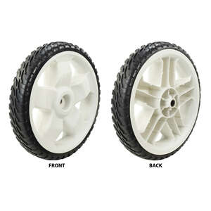 Toro  11 in. W x 11 in. Dia. Plastic  Lawn Mower Replacement Wheel