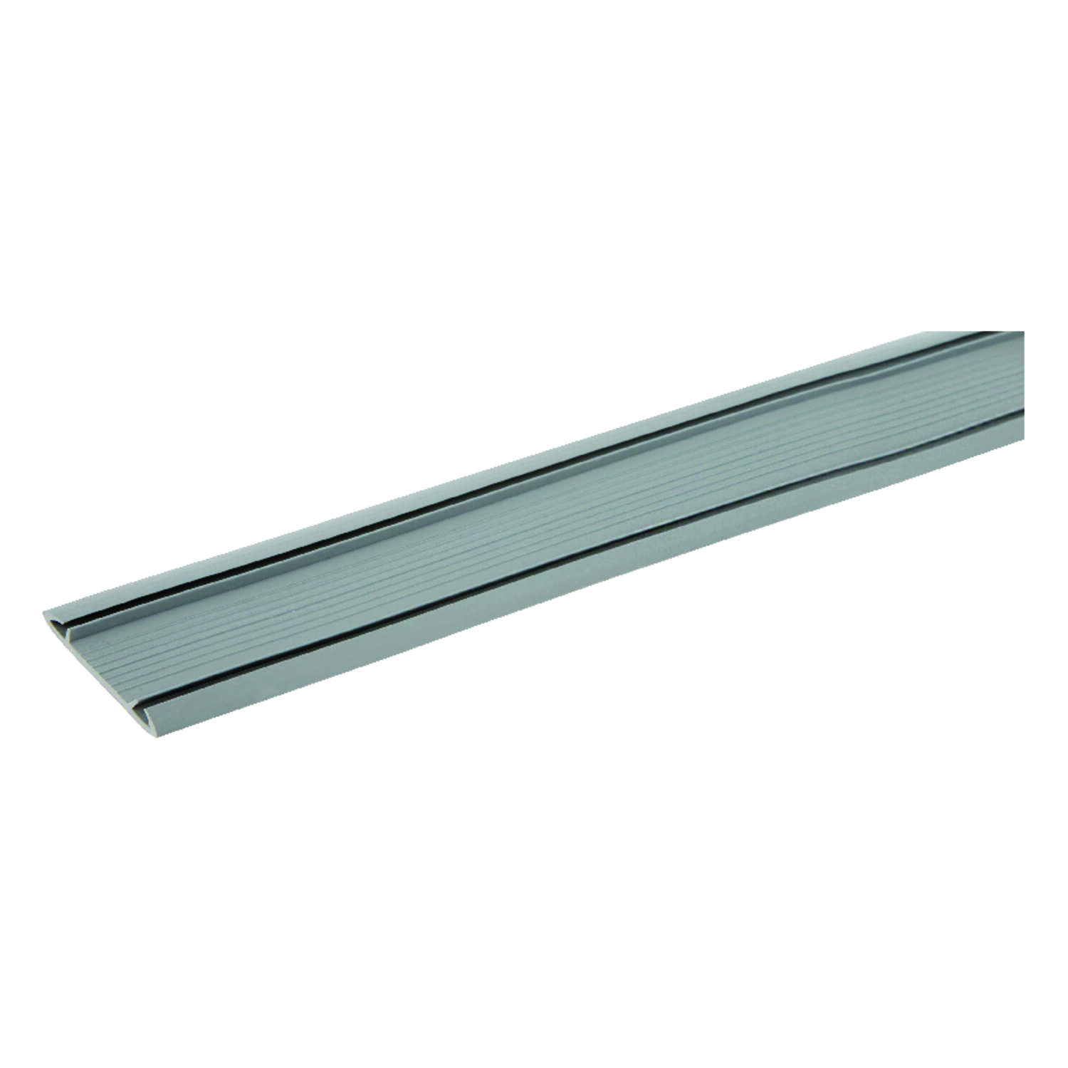 M-D Building Products  Gray  Vinyl  Threshold Insert  For Door 36 in. L x 5/8 in.