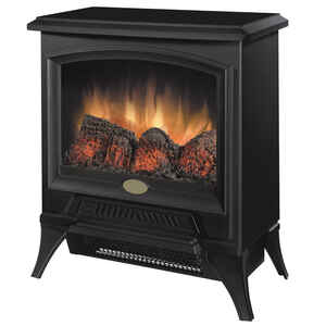 Dimplex  17.4 in. W 400 sq. ft. Black  Traditional  Electric Stove