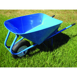 Wellmade Products  Miller  Steel  Contractor Wheelbarrow  5 cu. ft.