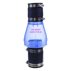 Magic Plastics  2 in. Dia. x 1/2  Dia. Slip  Plastic  Quiet  Check Valve