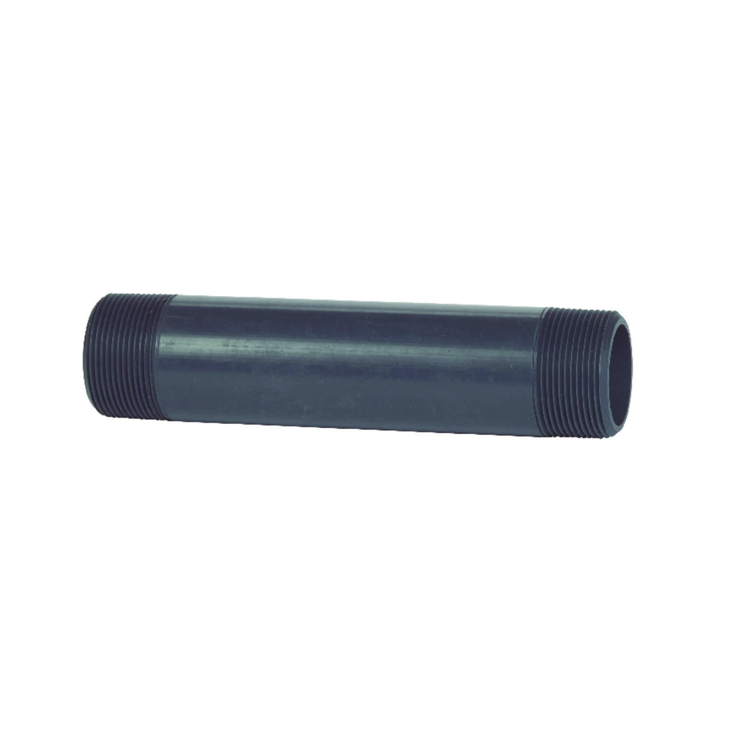 BK Products  Schedule 80  3/4 in. MPT   x 3/4 in. Dia. MPT  PVC  For Pressure Applications Pipe Nipp