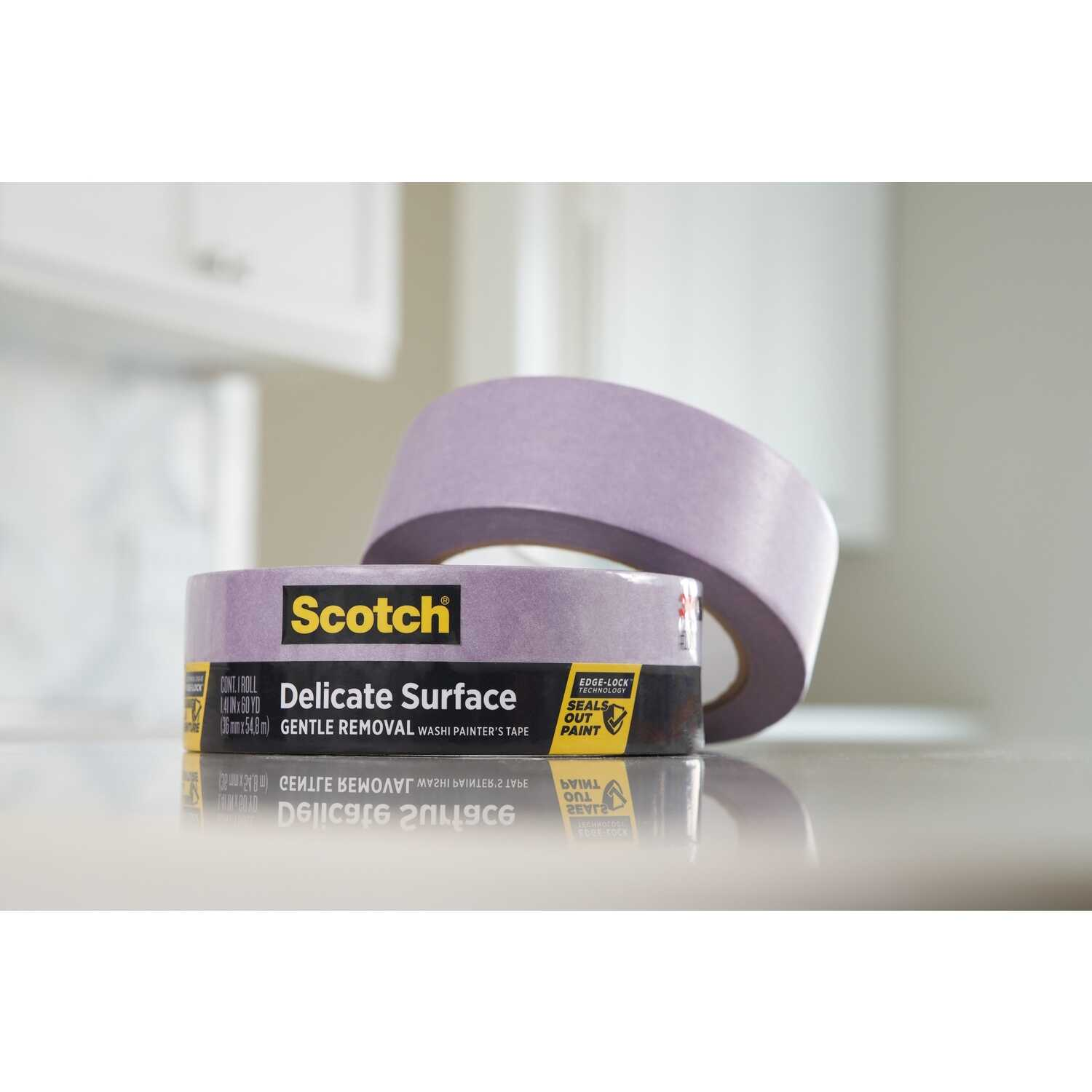 3M  Scotch Blue  1.88 in. W x 60 yd. L Purple  Medium Strength  Painter's Tape  1 pk