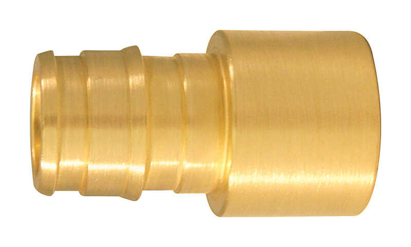 Apollo  Expansion PEX / Pex A  3/4 in. PEX   x 3/4 in. Dia. CTS  Brass  Female Adapter