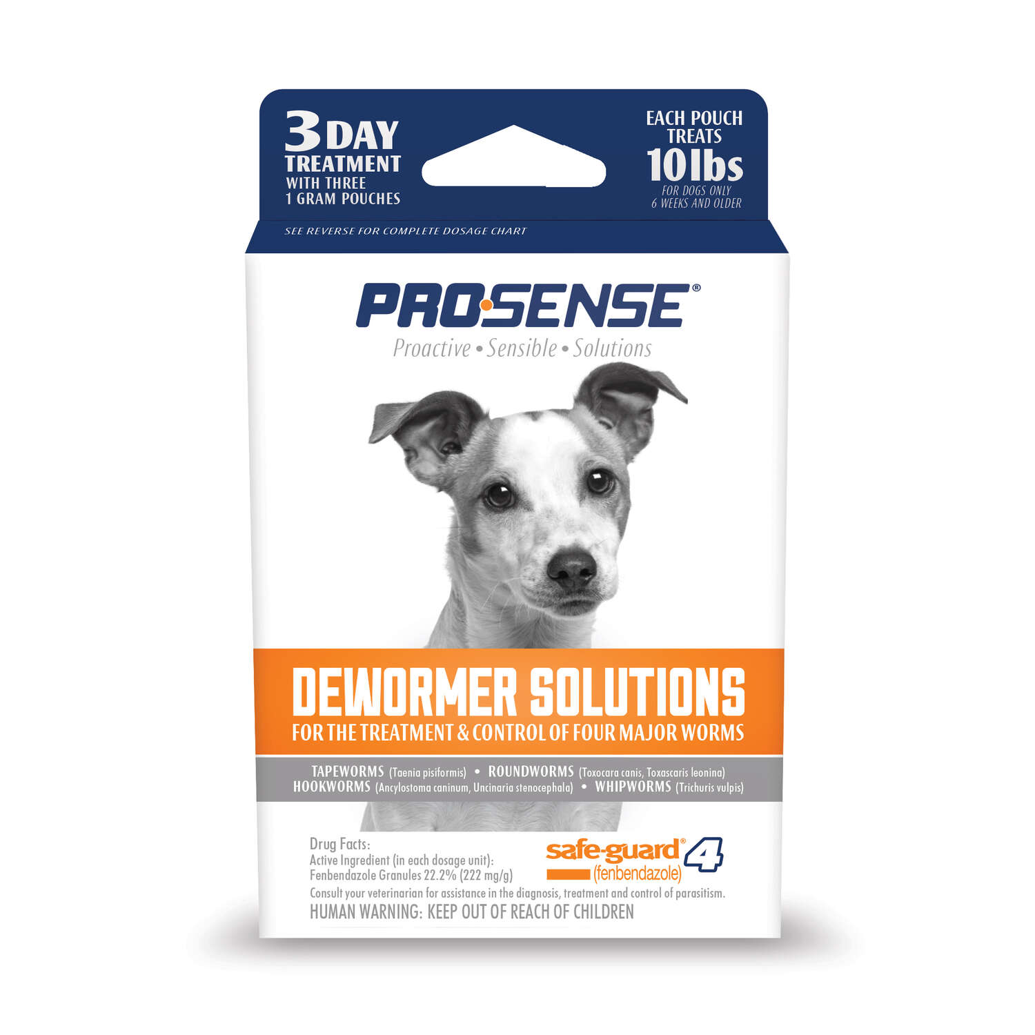 ProSense  Dog  De-Wormer  3 gm