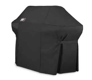 Weber  Black  Grill Cover  66.8 in. W x 26.8 in. D x 47 in. H For Fits Summit 400 Series Grills
