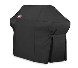 Weber  Black  Grill Cover  66.8 in. W x 47 in. H x 26.8 in. D For Fits Summit 400 Series Grills